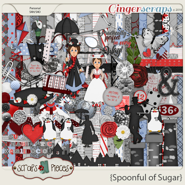 Spoonful of Sugar by Scraps N Pieces