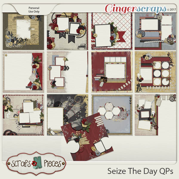 Seize The Day Quick Pages