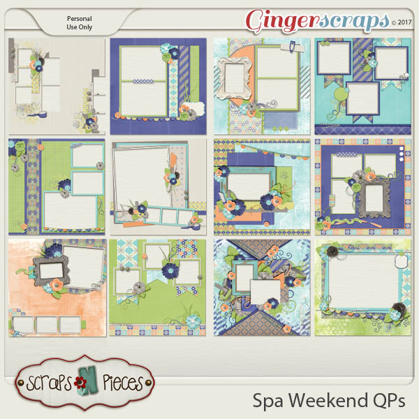 Spa Weekend Quick Pages