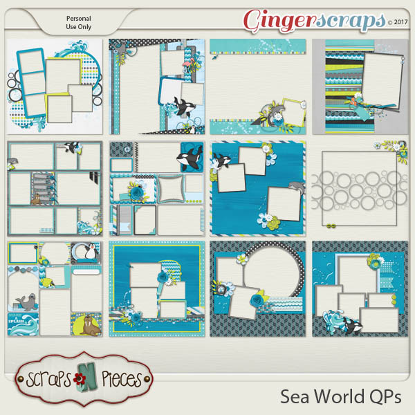 Sea World Quick Pages