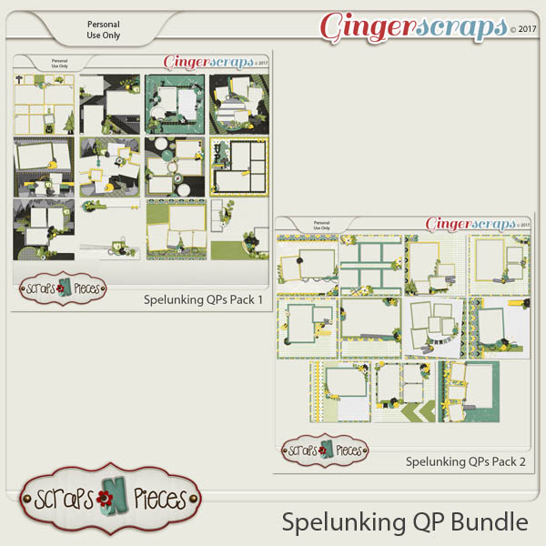 Spelunking Quick Page Bundle