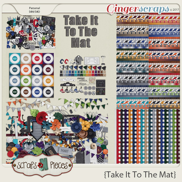 Take It To The Mat Bundle by Scraps N Pieces