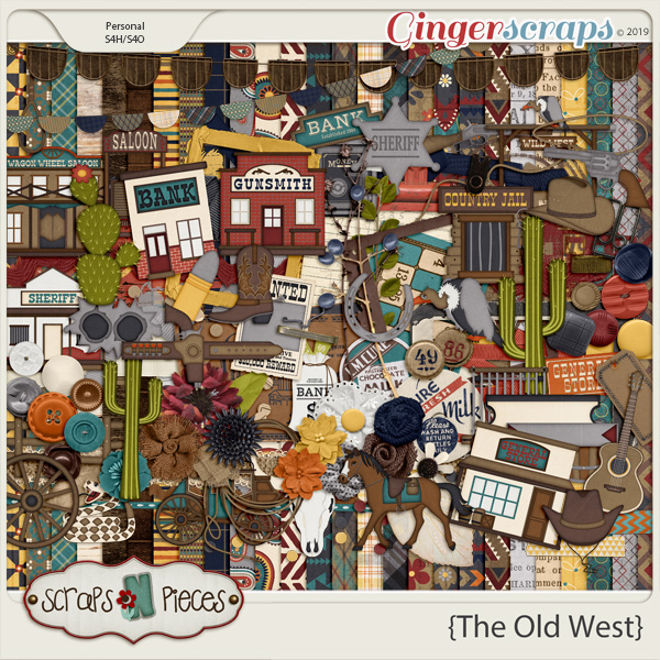 The Old West kit by Scraps N Pieces