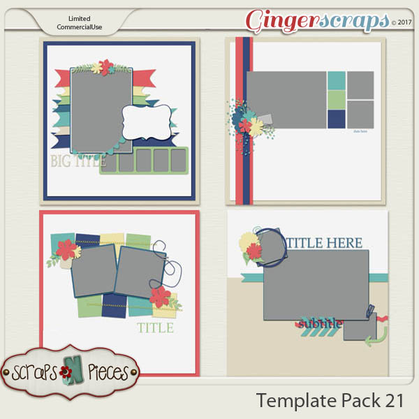 Template Pack 21 - Inspired by AmyJ