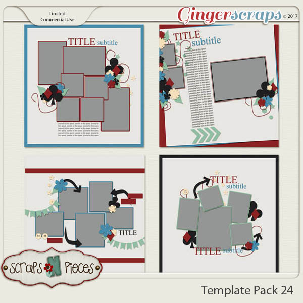 Template Pack 24 - Inspired by AmyJ