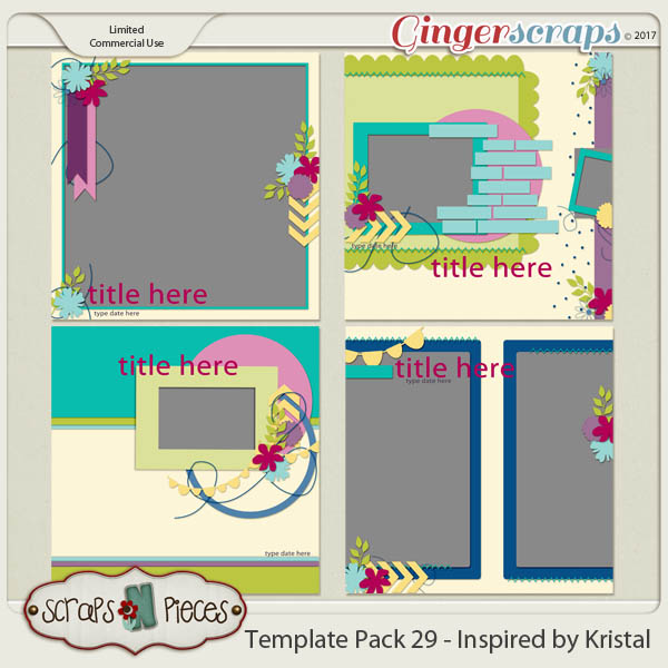 Template Pack 29 - Inspired by Kristal