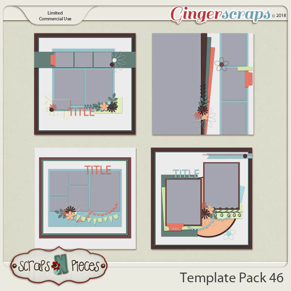Template Pack 46  by Scraps N Pieces