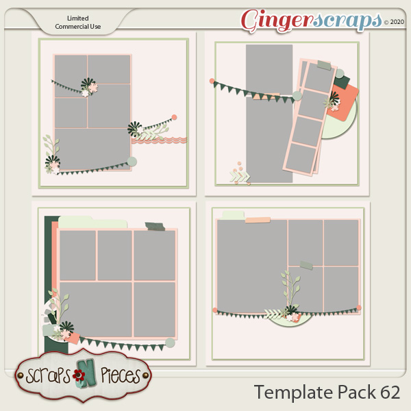 Template Pack 62 by Scraps N Pieces