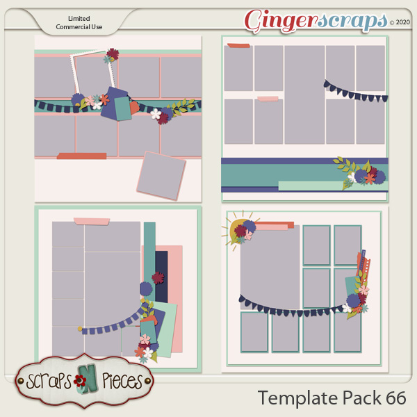 Template Pack 66 by Scraps N Pieces
