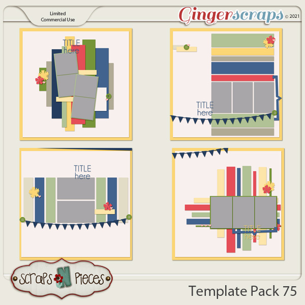 Template Pack 75 by Scraps N Pieces