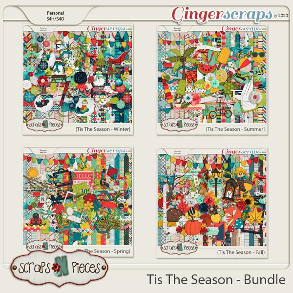 Tis The Season - Bundle - Scraps N Pieces