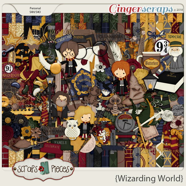Wizarding World Kit by Scraps N Pieces