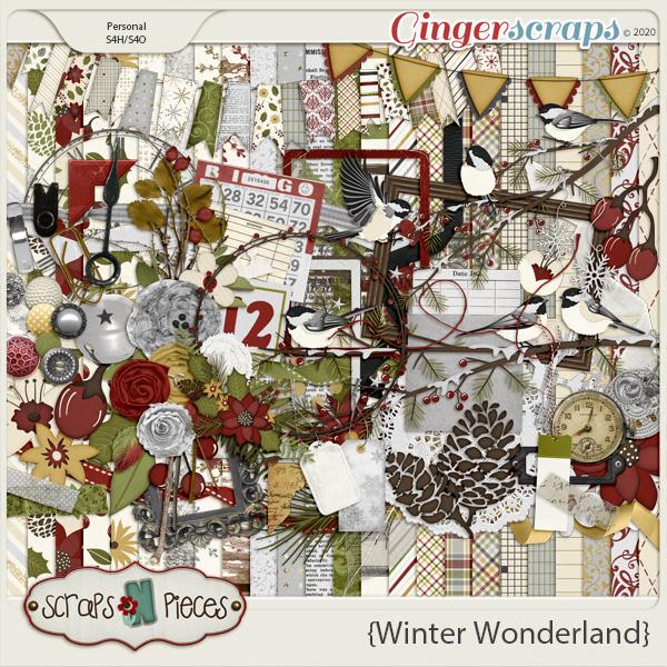 Winter Wonderland Kit by Scraps N Pieces