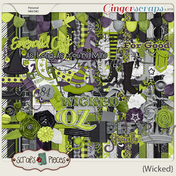 Wicked kit by Scraps N Pieces