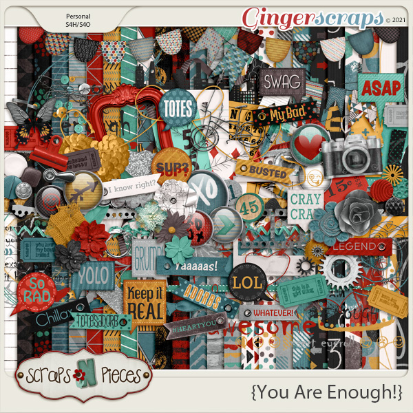 You Are Enough Kit - Scraps N Pieces