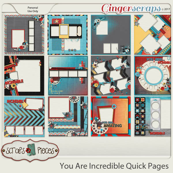 You Are Incredible Quick Pages