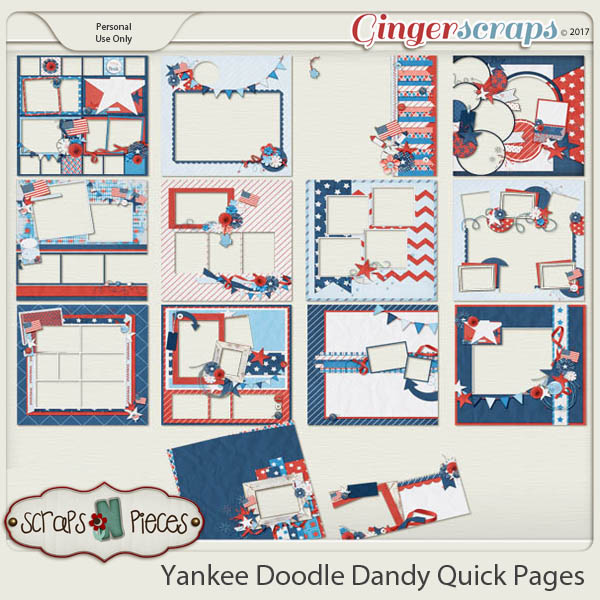 Yankee Doodle Dandy Quick Pages