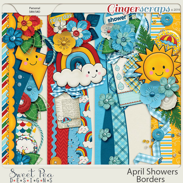 April Showers Borders