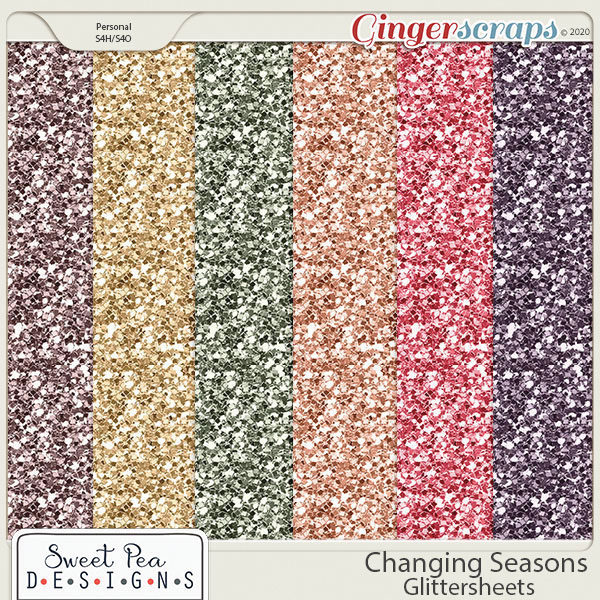 Changing Seasons Glittersheets