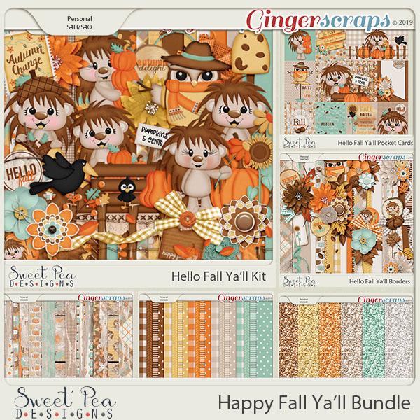 Happy Fall Ya'll Bundle