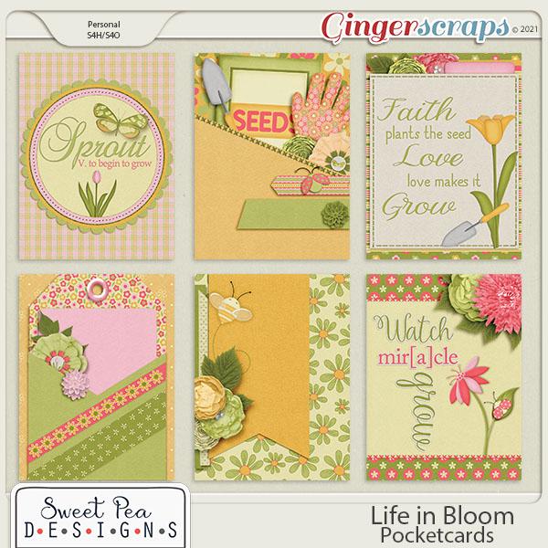Life in Bloom Pocket Cards
