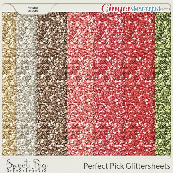 Perfect Pick Glittersheets