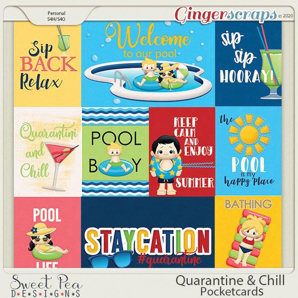 Quarantine and Chill Pocketcards