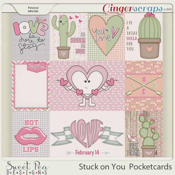 Stuck on You Pocket Cards