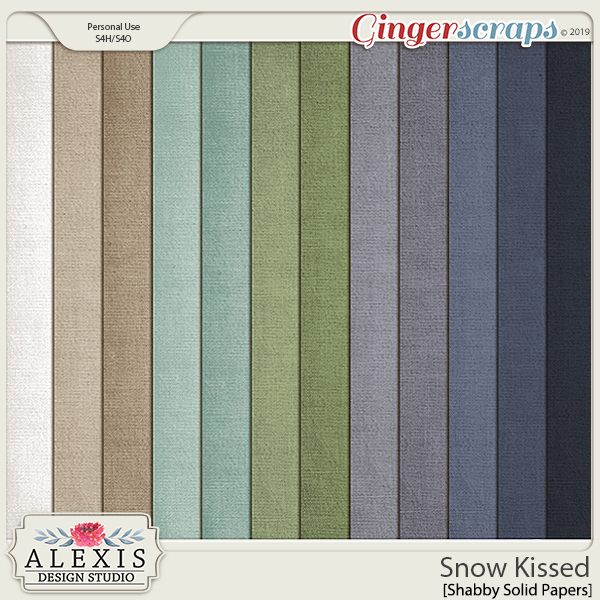 Snow Kissed - Shabby Solids
