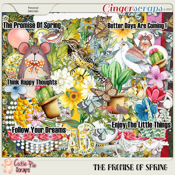 The Promise Of Spring Page Kit