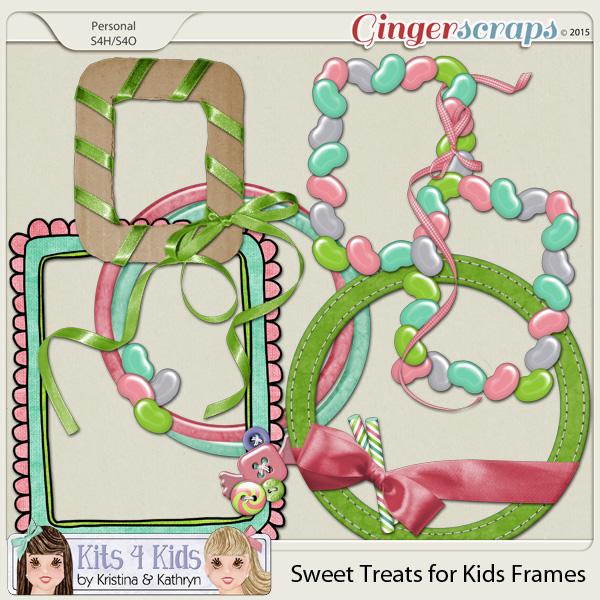 Sweet Treats Frame Clusters by K4K
