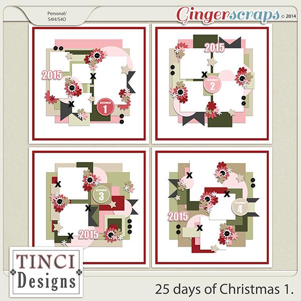 25 days of Christmas 1.