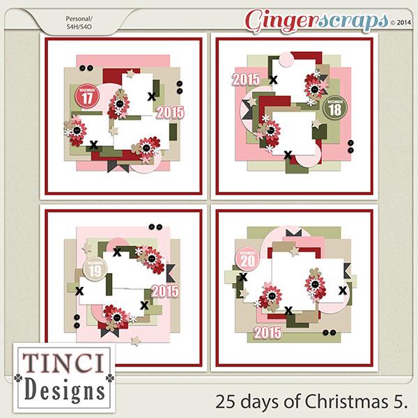 25 days of Christmas 5.