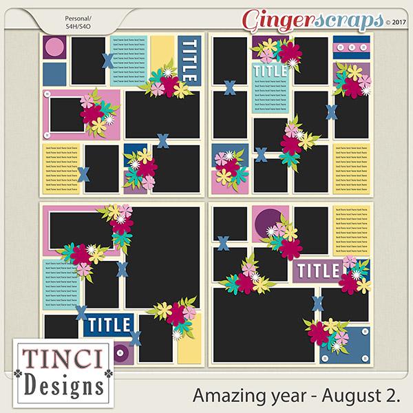 Amazing year - August 2.