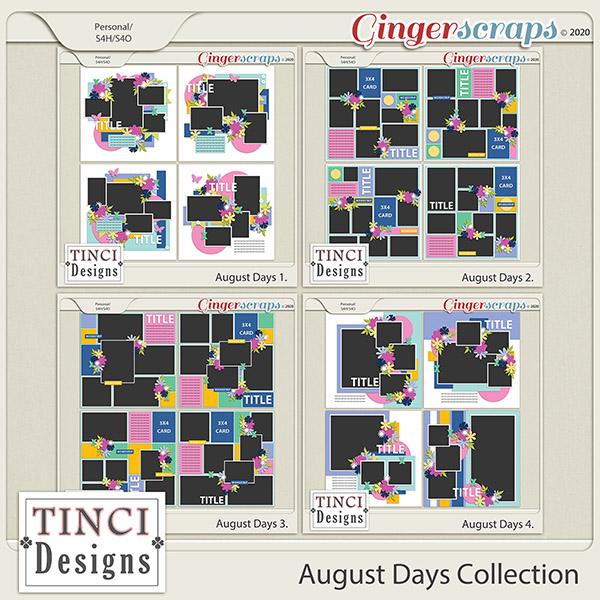 August Days Collection