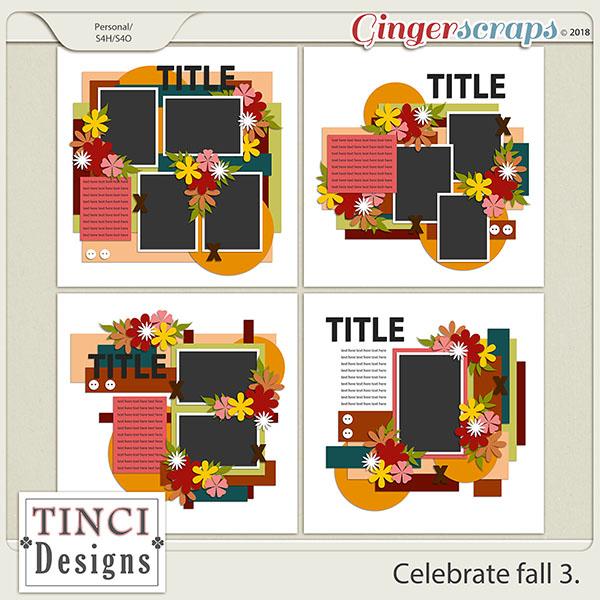 Celebrate fall 3.