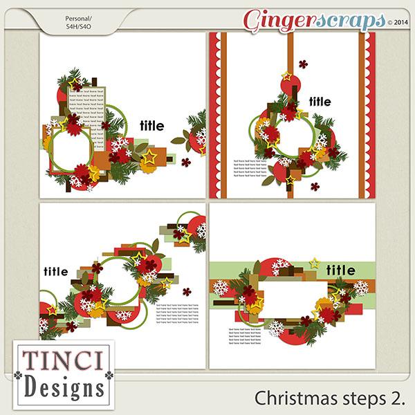 Christmas steps 2.