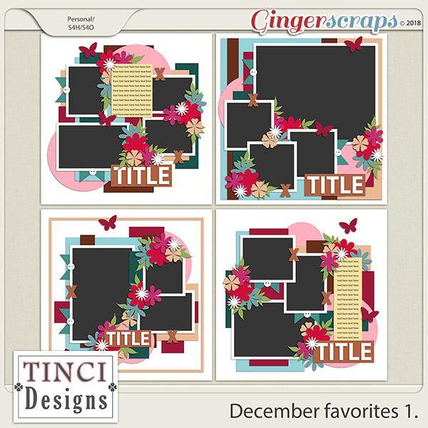 December favorites 1.