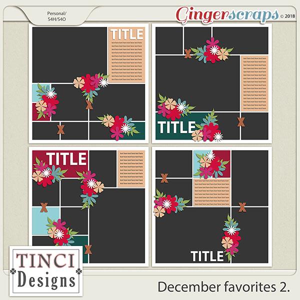 December favorites 2.