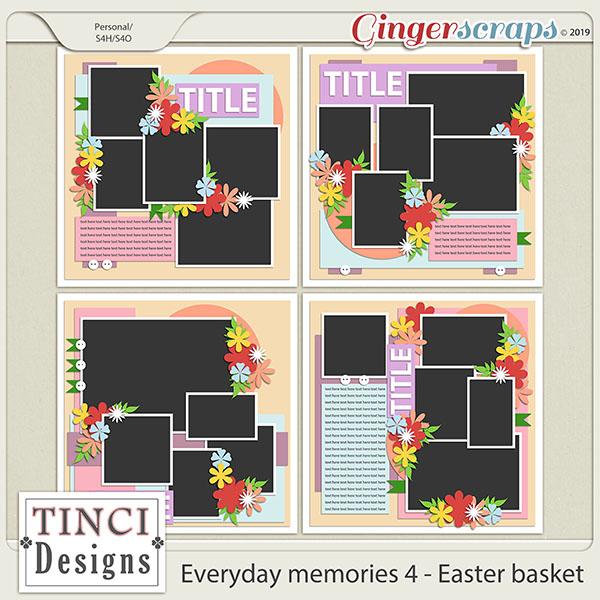 Everyday memories 4. - Easter basket