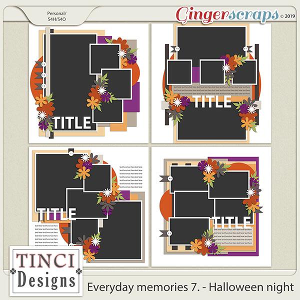 Everyday memories 7. - Halloween night