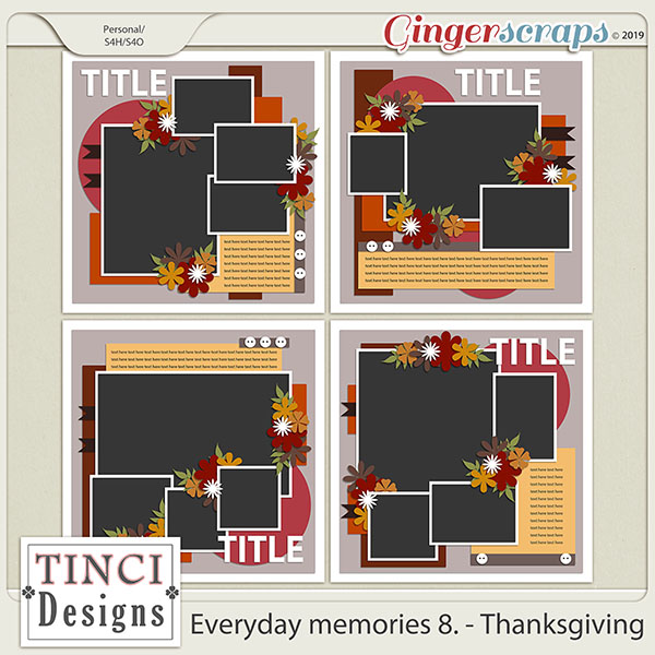 Everyday memories 8. - Thanksgiving