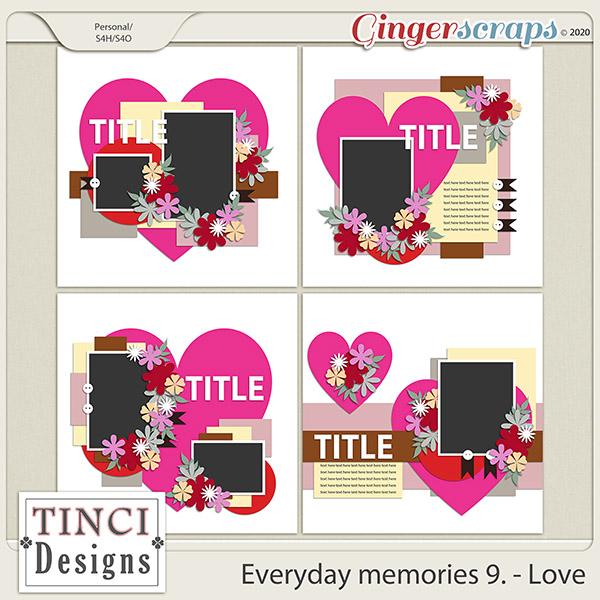 Everyday memories 9. - Love