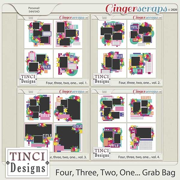 Four, Three, Two, One Grab Bag
