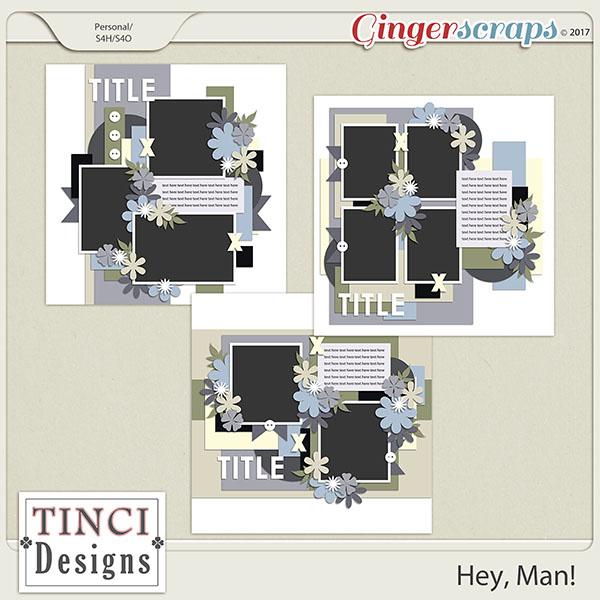Hey, man! templates