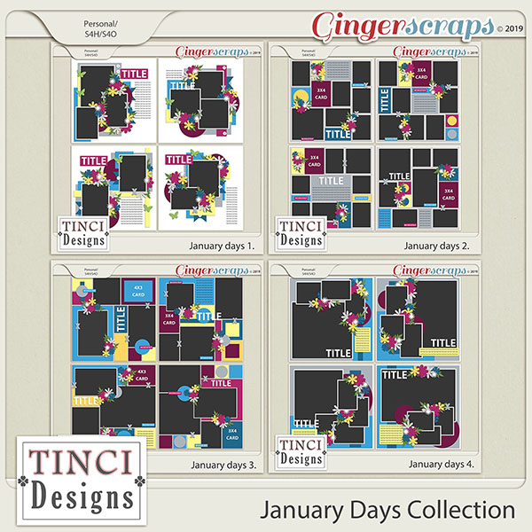 January Days Collection