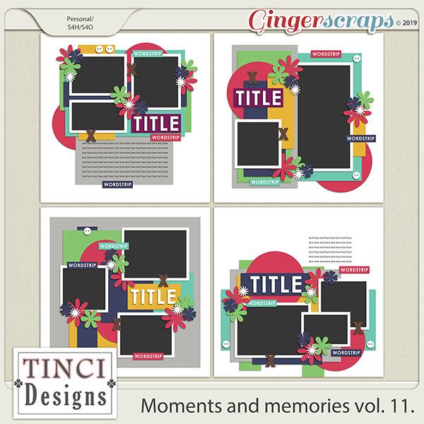 Moments and memories vol. 11.