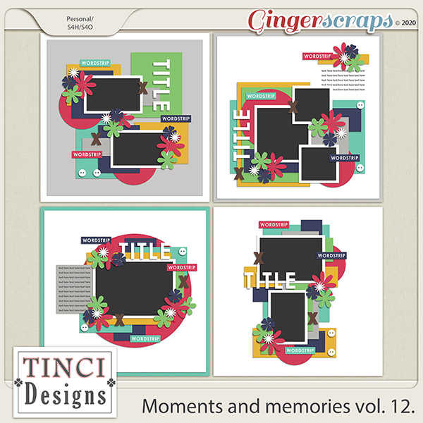 Moments and memories vol. 12.
