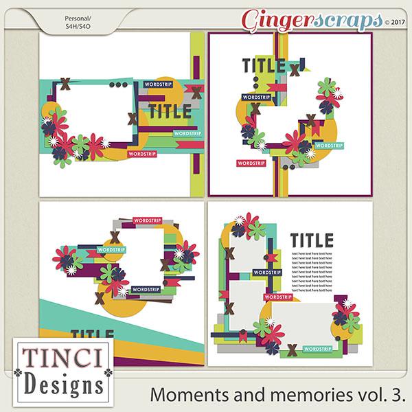 Moments and memories vol. 3.