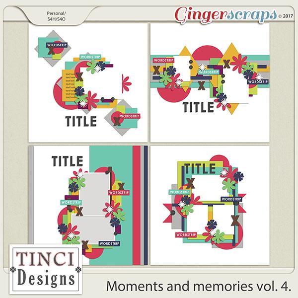 Moments and memories vol. 4.